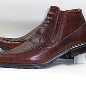 Обувь ручной работы. Ярмарка Мастеров - ручная работа Мужские ботинки (классика). Handmade.