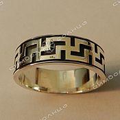 Русский стиль handmade. Livemaster - original item Ring ligature of well-being. Handmade.