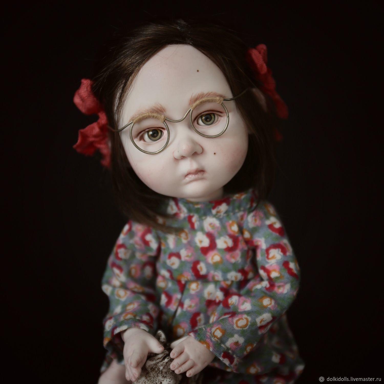 фарфоровая кукла ручной работы. Олечка, Шарнирная кукла, Дзержинский,  Фото №1