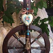 Подарки к праздникам ручной работы. Ярмарка Мастеров - ручная работа Керамическое интерьерное сердце. Handmade.
