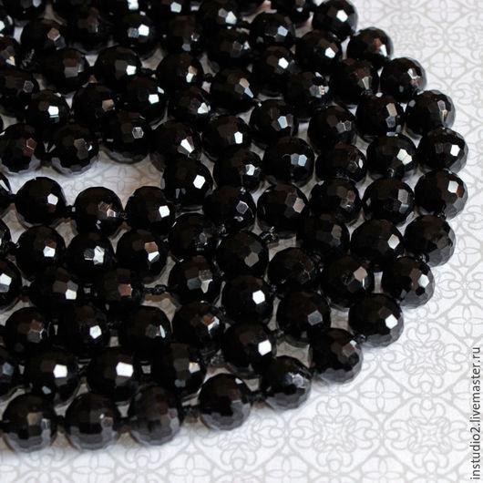 Для украшений ручной работы. Ярмарка Мастеров - ручная работа. Купить Агат 12 мм шар огранка бусины камни для украшений. Handmade.