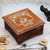 Для дома и интерьера handmade. Livemaster - original item Casket Coffee Paris. Handmade.