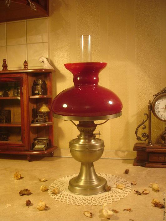 Винтажные предметы интерьера. Ярмарка Мастеров - ручная работа. Купить Старинная керосиновая лампа!!!. Handmade. Керосиновая лампа, антиквариат