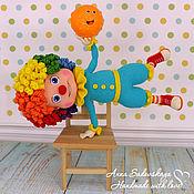 Куклы и игрушки ручной работы. Ярмарка Мастеров - ручная работа Клоун Веня. Handmade.