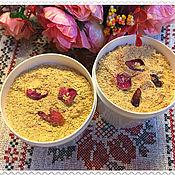 Косметика ручной работы handmade. Livemaster - original item Wild Rose fountain with rose petal powder. Handmade.