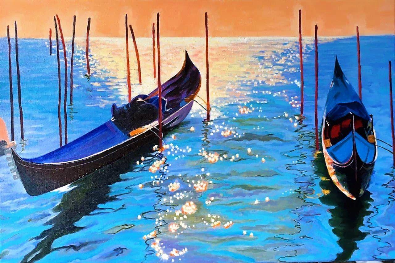 Картина маслом Венеция, Картины, Белгород,  Фото №1