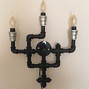 Для дома и интерьера manualidades. Livemaster - hecho a mano La lámpara de loft. vintage. Handmade.