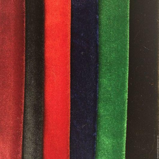 Шитье ручной работы. Ярмарка Мастеров - ручная работа. Купить Ткань Бархат. Handmade. Комбинированный, одежда для женщин