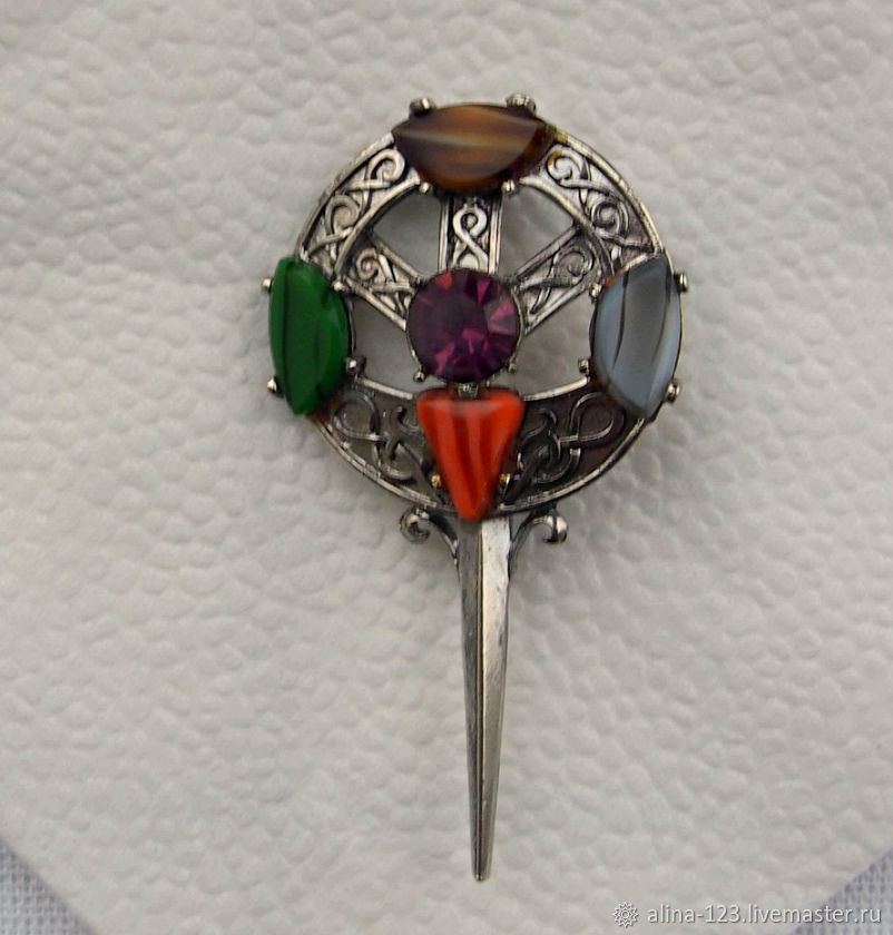 Celtic style brooch from Exquisite, Vintage brooches, Obninsk,  Фото №1
