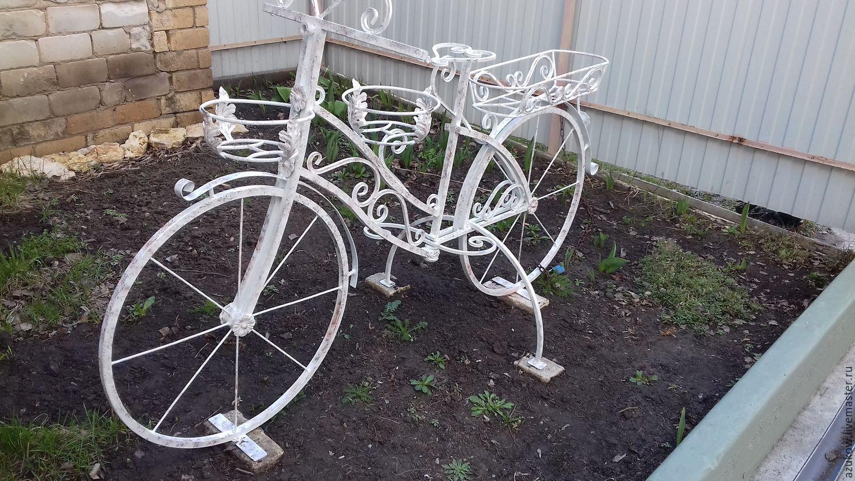 Велосипед кашпо своими руками как