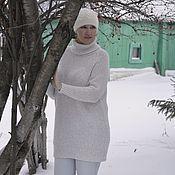 """Одежда ручной работы. Ярмарка Мастеров - ручная работа Свитер-оверсайз """" Зимушка-зима"""" Эксклюзив. Handmade."""