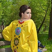 "Одежда ручной работы. Ярмарка Мастеров - ручная работа туника ""Яркое солнце Самарканда"". Handmade."