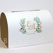 Свадебный салон ручной работы. Ярмарка Мастеров - ручная работа Сундучок для подарков СД-28. Handmade.