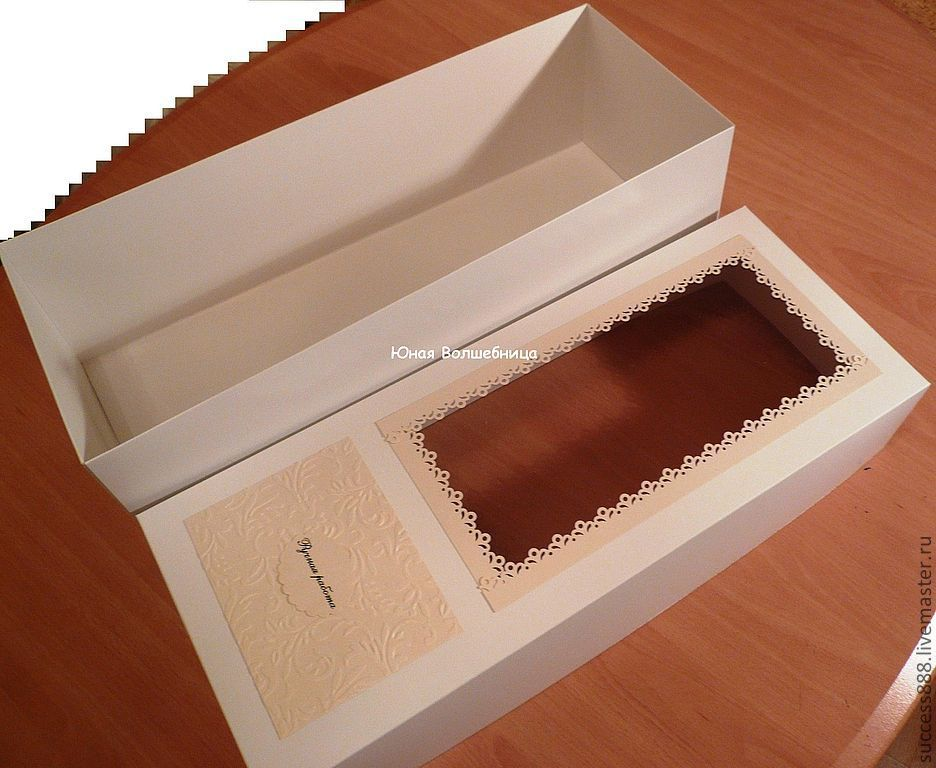 Коробка упаковка для куклы своими руками фото 919