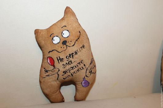 """Ароматизированные куклы ручной работы. Ярмарка Мастеров - ручная работа. Купить Кофейная игрушка """"Твой Котик""""-малыш. Handmade. Коричневый"""