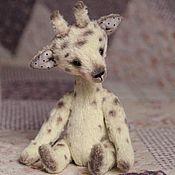 Куклы и игрушки ручной работы. Ярмарка Мастеров - ручная работа Жирафа. Handmade.