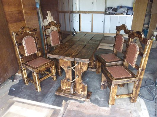 Мебель ручной работы. Ярмарка Мастеров - ручная работа. Купить Мебель под старину из массива сосны. Handmade. деревянная мебель
