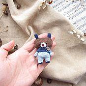 Куклы и игрушки ручной работы. Ярмарка Мастеров - ручная работа Медведь - Toy bear - Knit Toy. Handmade.