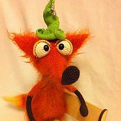 Куклы и игрушки ручной работы. Ярмарка Мастеров - ручная работа Мастер-класс по вязанию  Лисёнок Фоксик. Handmade.