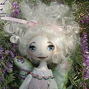 Куклы и игрушки ручной работы. Ярмарка Мастеров - ручная работа Фея исполнения желаний. Тыквоголовая кукла. Handmade.