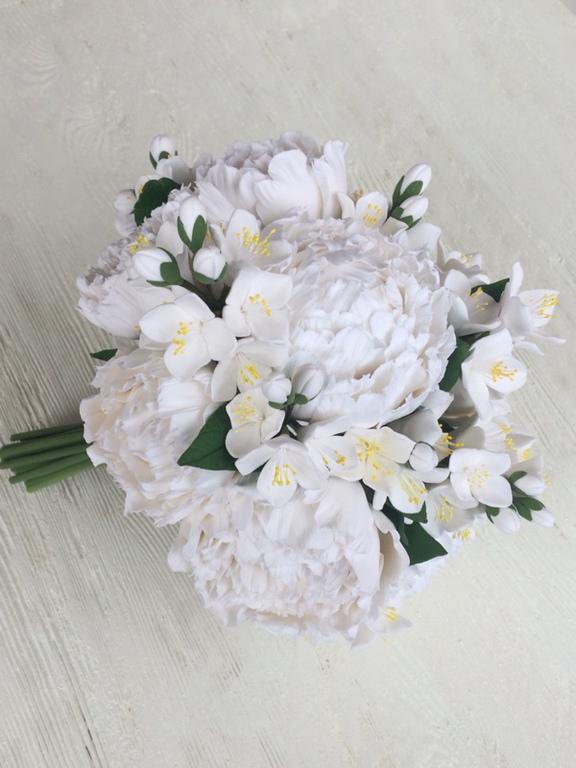 Какой вид жасмина добавляют в букеты свадебные