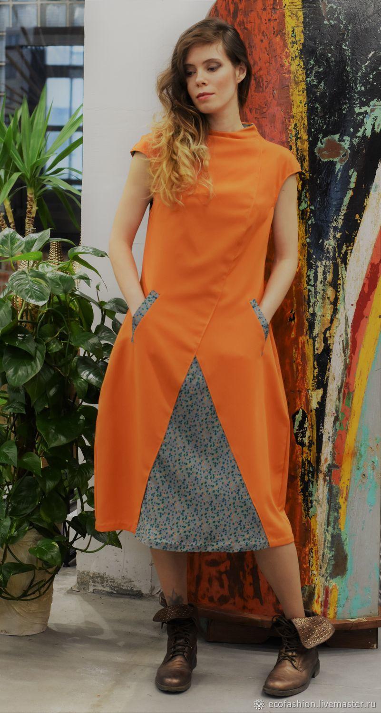 """Платье """"Оранжевое Солнце"""", Платья, Санкт-Петербург,  Фото №1"""