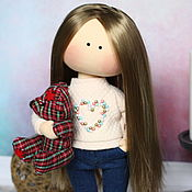 Сувениры и подарки handmade. Livemaster - original item Personal gift for a woman doll by photo. Handmade.