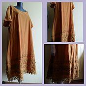 Одежда handmade. Livemaster - original item Red boho dress. Handmade.
