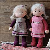 Куклы и игрушки ручной работы. Ярмарка Мастеров - ручная работа Текстильные куклы Пампушки. Handmade.