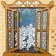 """Прихожая ручной работы. Ярмарка Мастеров - ручная работа. Купить Ключница """"Ромашки на окне"""". Handmade. Ключница, ромашки, акриловые краски"""
