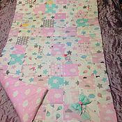 Одеяла ручной работы. Ярмарка Мастеров - ручная работа Покрывало-одеяло пэчворк лоскутное. Handmade.