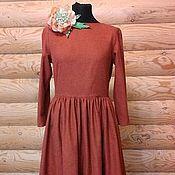 Одежда ручной работы. Ярмарка Мастеров - ручная работа Платье Французский стиль 3 Хлопок 100%. Handmade.