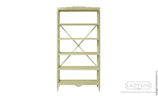 Мебель ручной работы. Ярмарка Мастеров - ручная работа. Купить Деревянная этажерка 205 см. широкая в стиле прованс. Handmade.