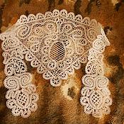 Аксессуары handmade. Livemaster - original item Solitaire-Fonseca Vologda lace. Handmade.