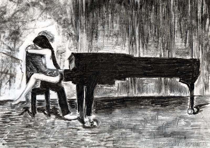 Пианино, Картины, Томск,  Фото №1