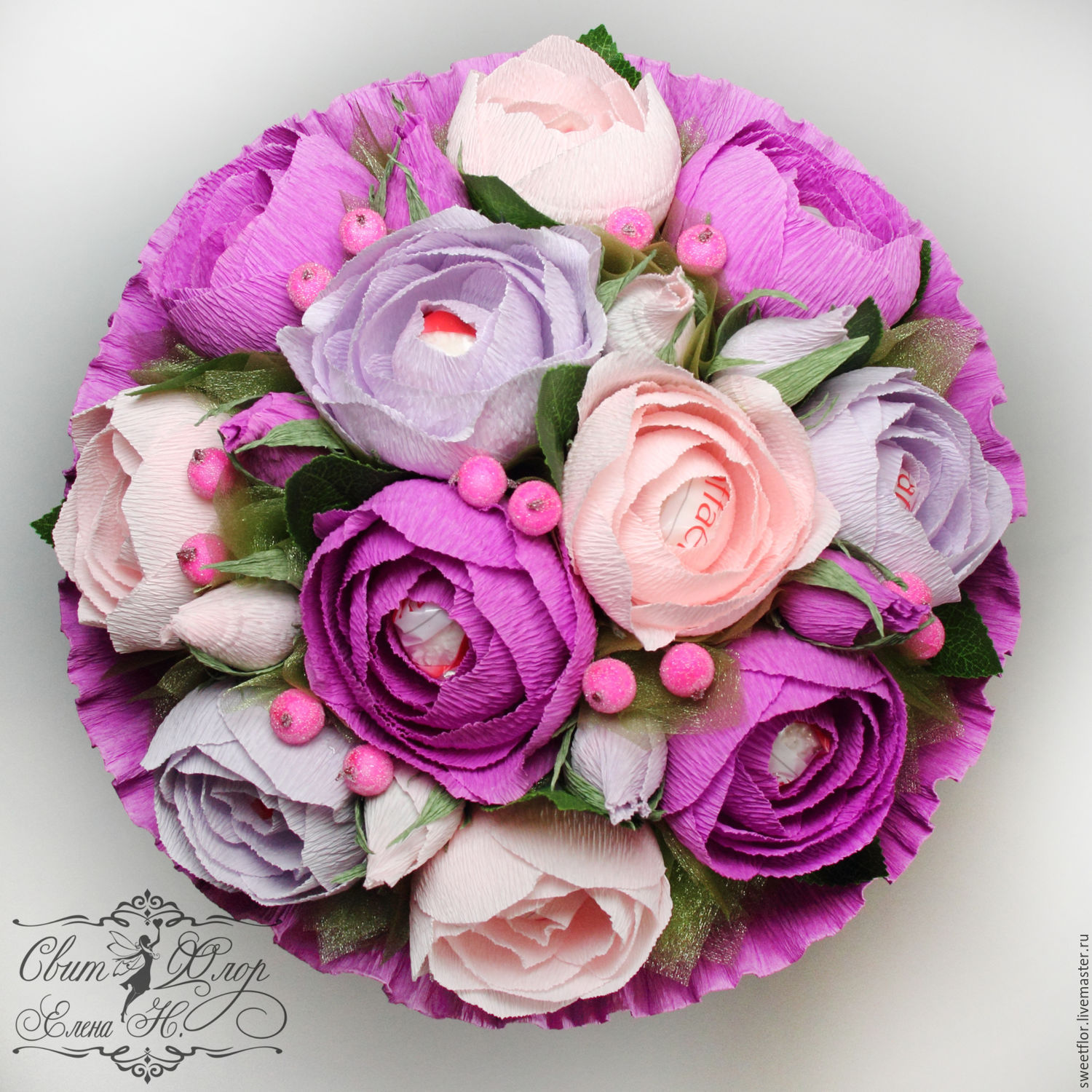 hand bouquet of candy – shop online on Livemaster with shipping ...