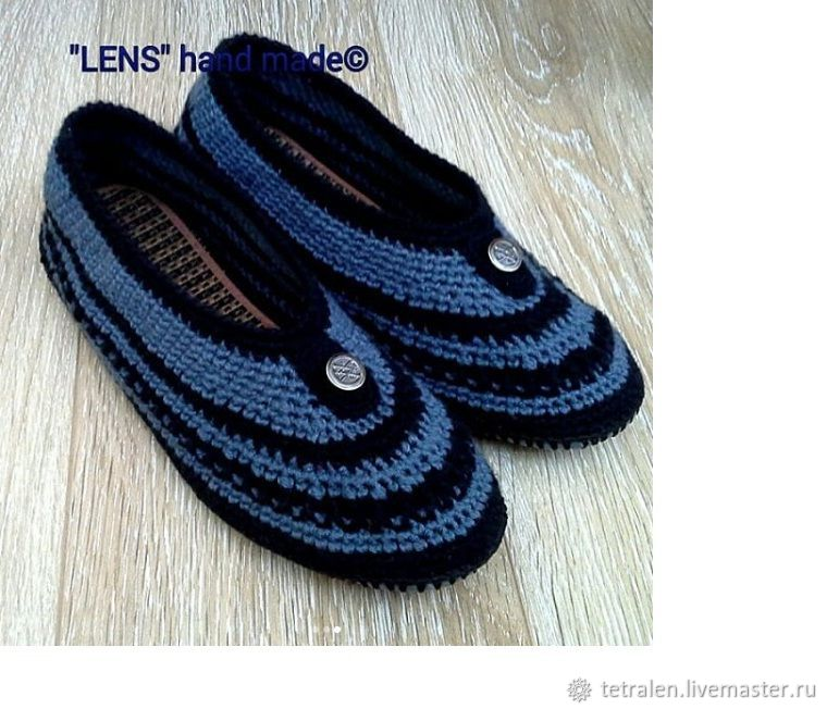 House Slippers men's on a sole, Slippers, Orel,  Фото №1
