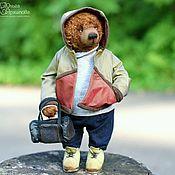 Куклы и игрушки handmade. Livemaster - original item Gennadiy (Dressed Artist Handmade Teddy Bear - OOAK). Handmade.
