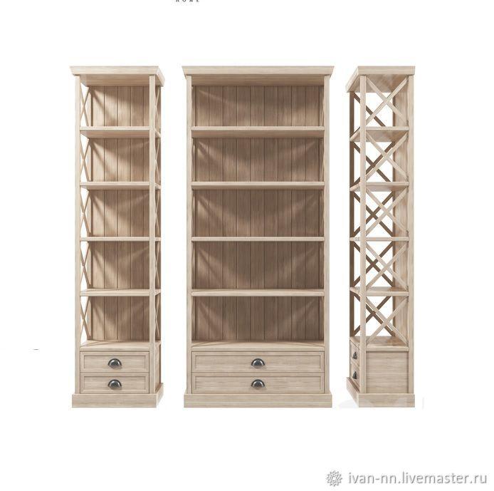 Стеллаж для книг №1, Шкафы, Нижний Новгород, Фото №1