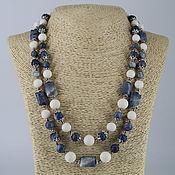 Украшения handmade. Livemaster - original item Beads double row of natural coral