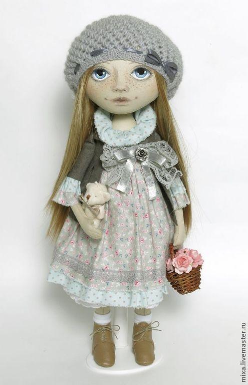 Коллекционные куклы ручной работы. Ярмарка Мастеров - ручная работа. Купить Полина. Handmade. Интерьерная кукла, подарок на день рождения