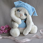 Куклы и игрушки handmade. Livemaster - original item Teddy Bunny rectangle. Handmade.