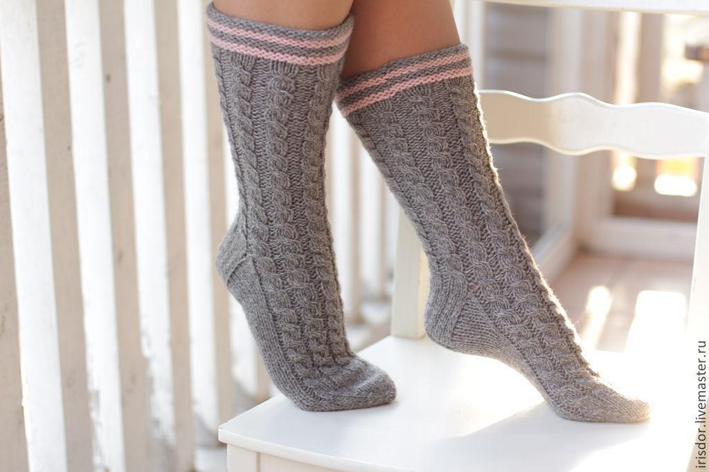 Носки женские высокие \