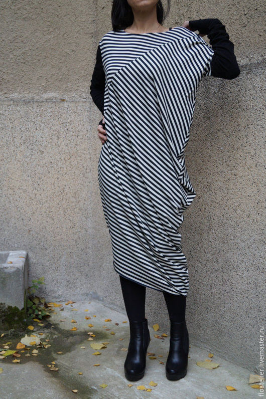 Платья ручной работы. Ярмарка Мастеров - ручная работа. Купить Экстравагантная туника/Одежда для беременных/F1522. Handmade. Серый, платье на заказ, стиль