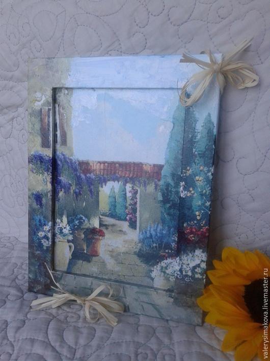 Пейзаж ручной работы. Ярмарка Мастеров - ручная работа. Купить Картина ТОСКАНА. Handmade. Разноцветный, тоскана, картина в подарок