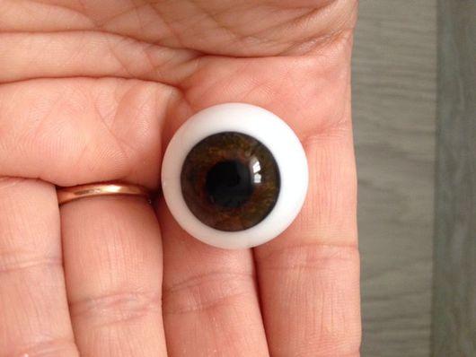Куклы и игрушки ручной работы. Ярмарка Мастеров - ручная работа. Купить Глаза Лауша 22 мм N 9. Handmade.