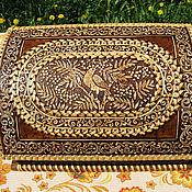 Для дома и интерьера handmade. Livemaster - original item Bread basket made of birch bark