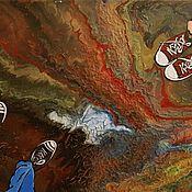 Картины ручной работы. Ярмарка Мастеров - ручная работа Картина Парочка. Handmade.
