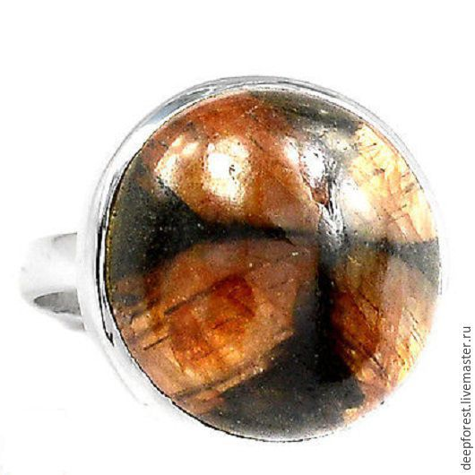 Кольца ручной работы. Ярмарка Мастеров - ручная работа. Купить Кольцо редкий Хиастолит и серебро. Handmade. Кольцо ручной работы