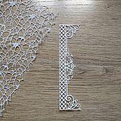 Материалы для творчества handmade. Livemaster - original item !Cutting for scrapbooking -Border-GARDEN WALL, diz cardboard. Handmade.